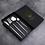 Thumbnail: Metal Tableware Set - 4pc