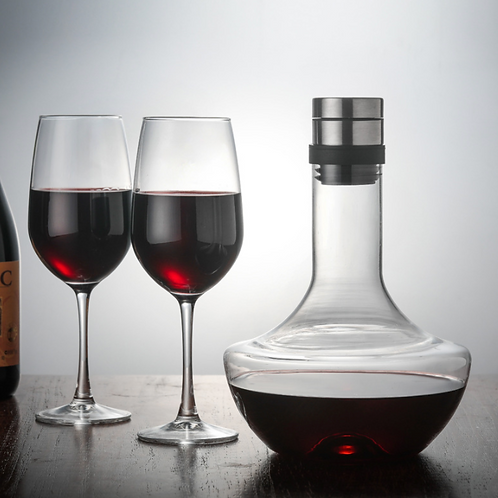 1000 Ml Large Decanter Handmade Crystal Red Wine Brandy Champagne Glass Decanter