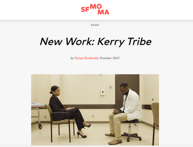 New Work: Kerry Tribe