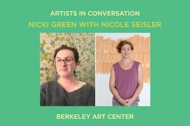 Artists in Conversation: Nicki Green with Nicole Seisler