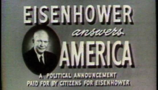 Political Advertisement X: 1952–2020