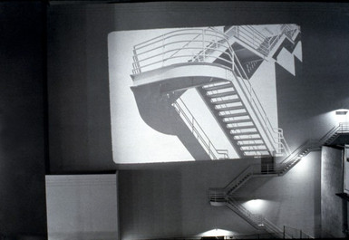 Proto-Stairwell's: Jim Melchert's Location Project #10