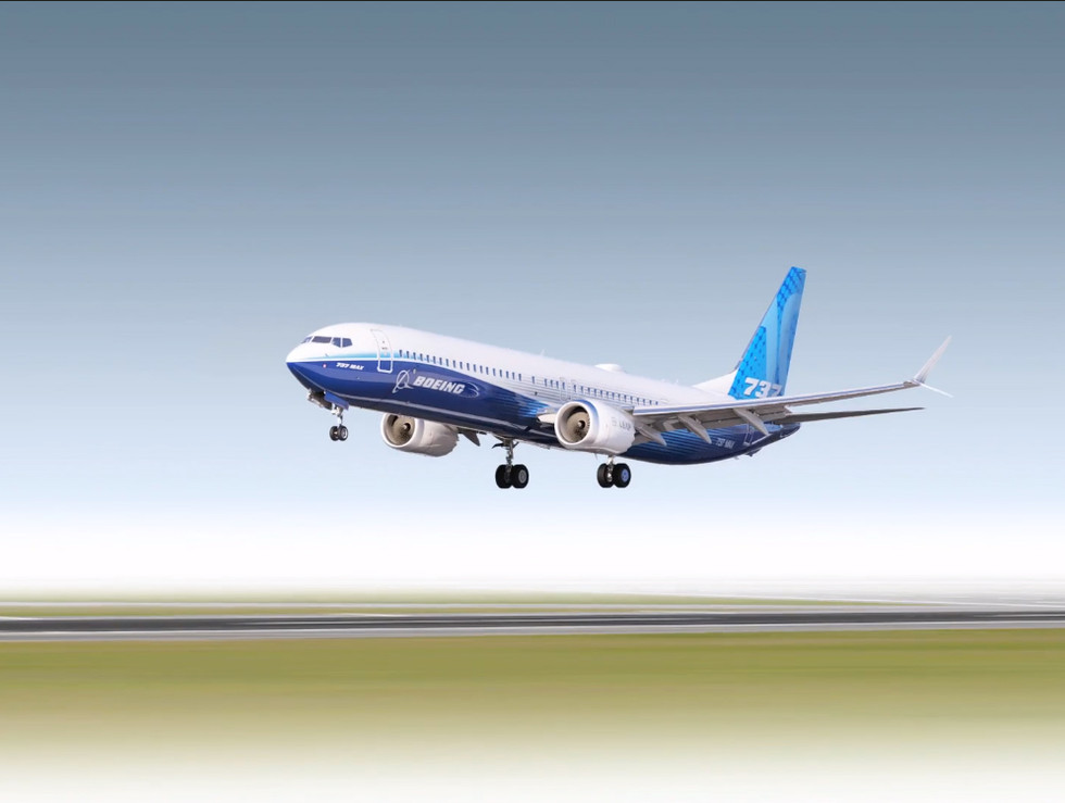 Boeing Commercial Airplanes 3D mechanical rigging