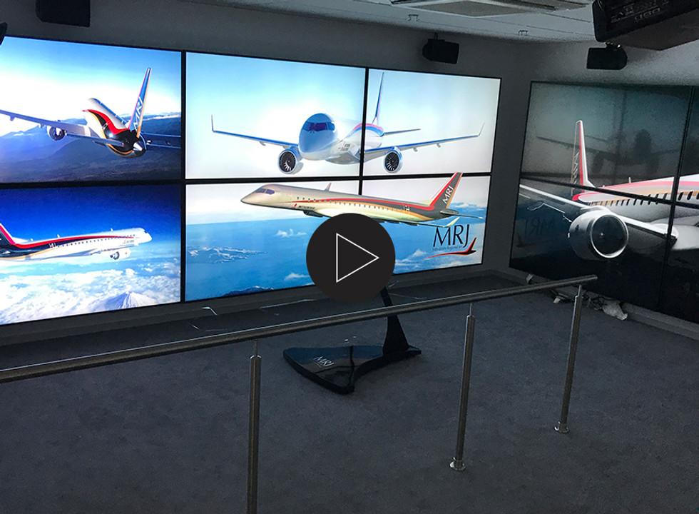 Mitsubishi Aircraft Corporation 3D Animation