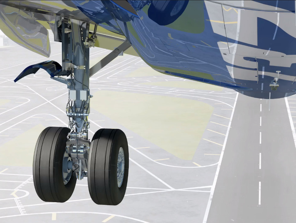 Aerospace 3d modeling