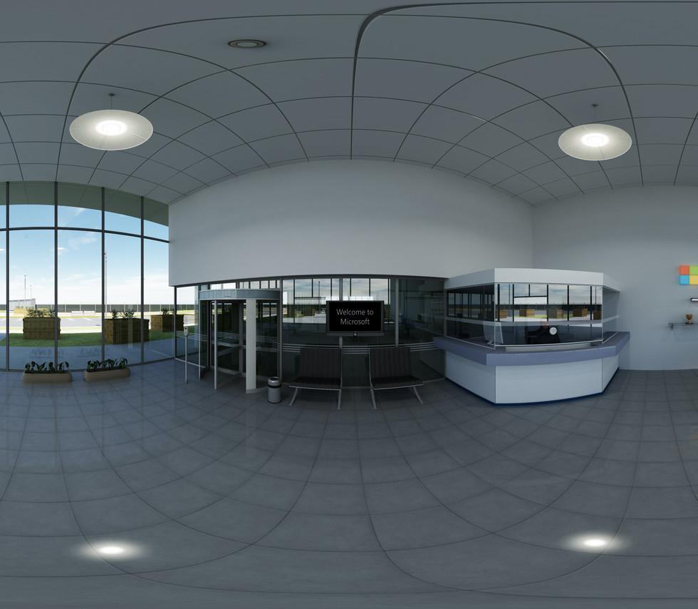 Microsoft 360 VR Environments and walkthroughs