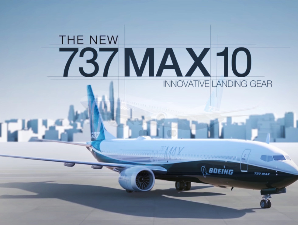 Boeing Commercial Airplanes 3D animation