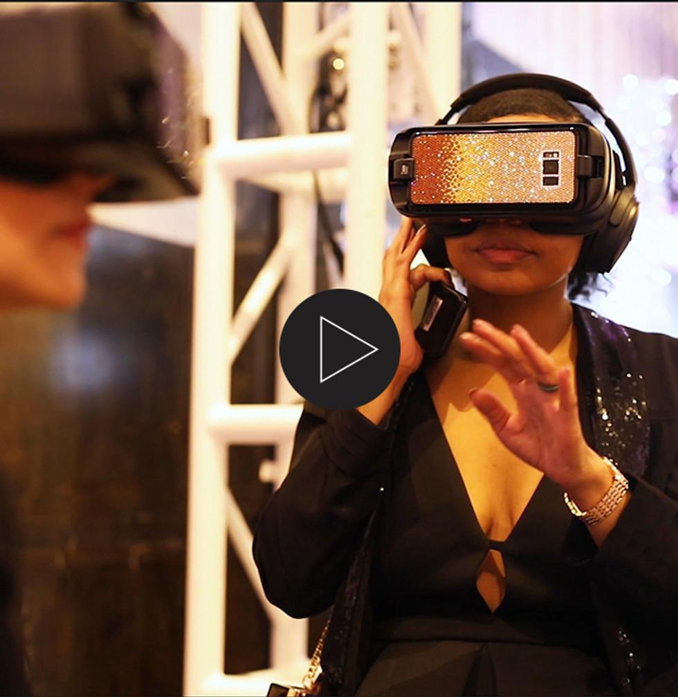 Swarovski virtual reality (VR) experience