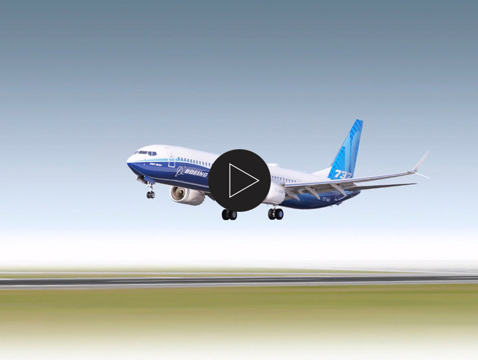 Boeing Commercial Airplanes 3D modeling