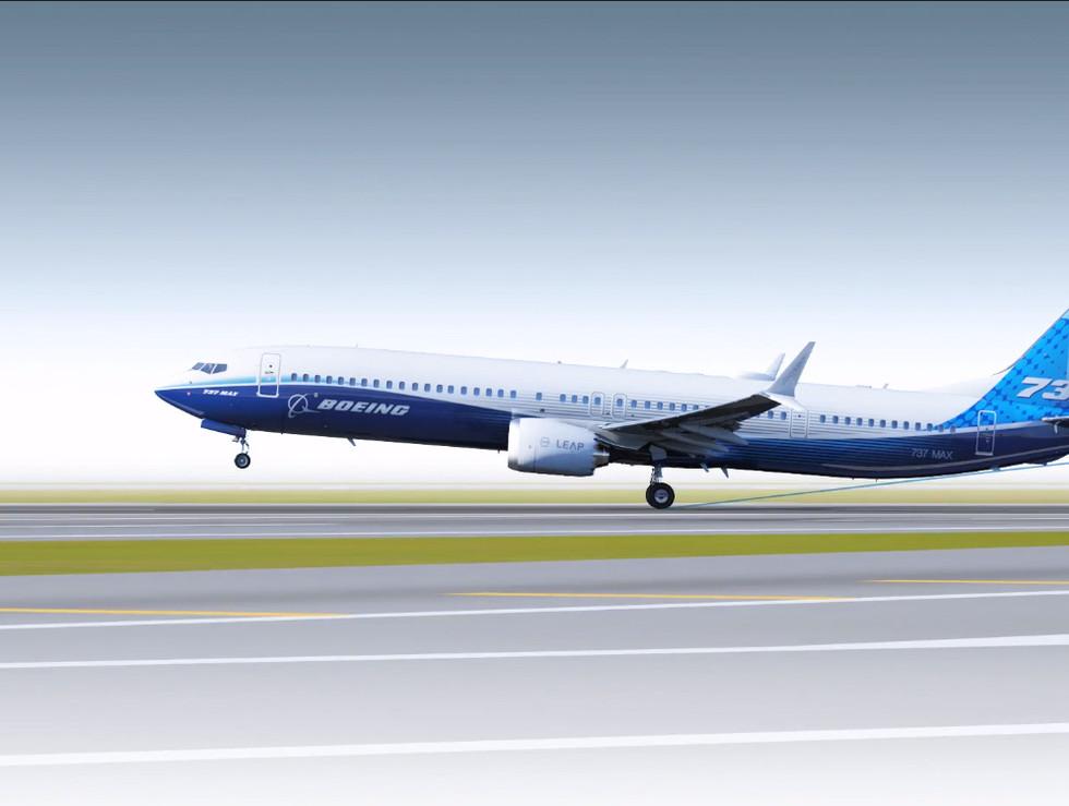 Boeing 3D images for media support