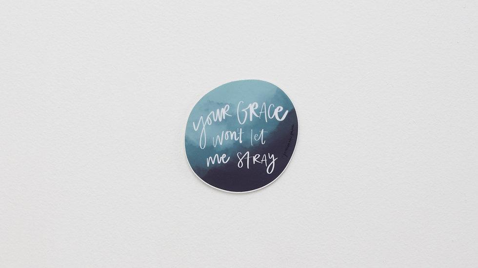 Grace - Lyric sticker