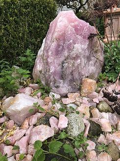 Garden der Stille Path_Large Rose Quartz