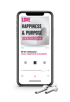 Pod Cast Cover-Love Happiness & Purpose.