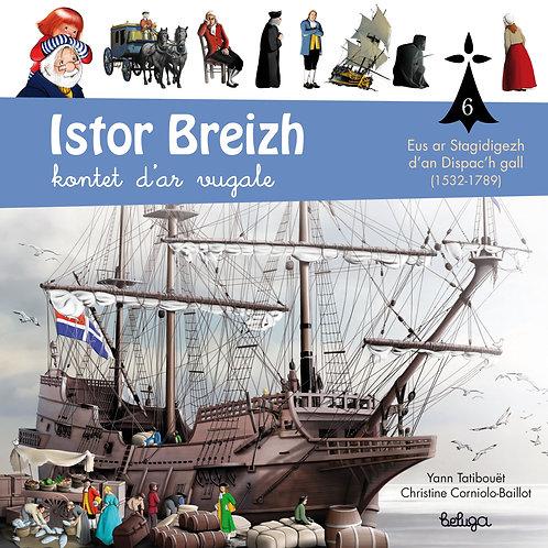 Istor Breizh kontet d'ar vugale – levr. 6