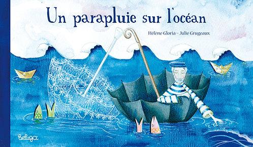 Un parapluie sur l'océan