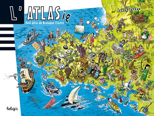L'Atlasig – Petit atlas de Bretagne illustré