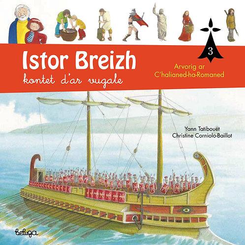 Istor Breizh kontet d'ar vugale – levr. 3