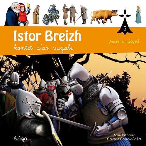 Istor Breizh kontet d'ar vugale – levr. 5