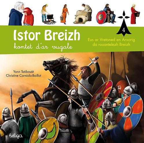 Istor Breizh kontet d'ar vugale – levr. 4