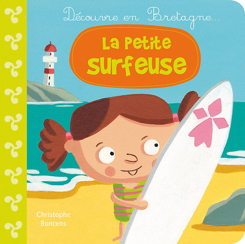 La petite surfeuse
