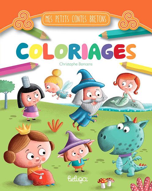 Coloriages Mes petits contes bretons