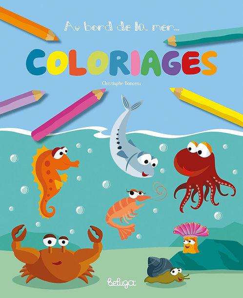 Coloriages Au bord de la mer