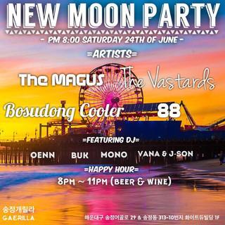 [New Moon Party] 2017. 6. 24. sat. pm 8. @ Gaerilla