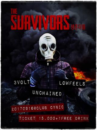 [the Survivors 생존자들] 2017. 9. 16. sat. pm8 @ Club Cynic