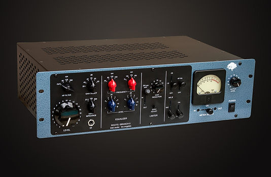 Branch II Channel Strip, Pre Amp, EQ, Compressor