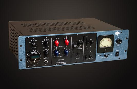 Branch II Channel Strip, Pre Amp, EQ, Compressor