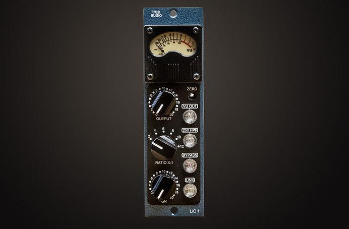 L/C 1 Optical Compressor, Tree Audio 500 Series Module