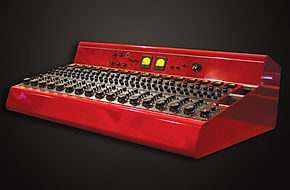 Songwriter Moon Martin's Tree Audio Roots console in custom color