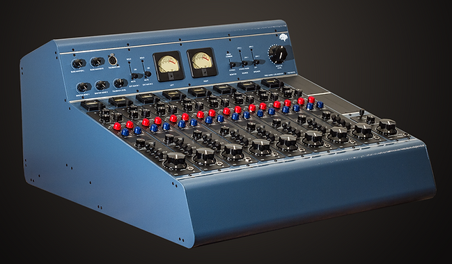 The Roots Gen I  8 Channel Tube Recording Console   All channels are pure tube and transformers   Discrete Class A Solid State buss and master section  Fully regulated Vacuum tube and linear power supplies