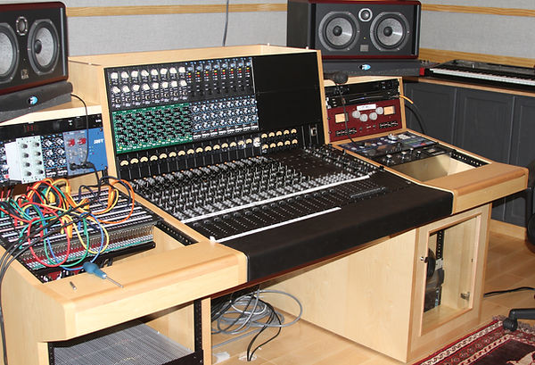 Anthony's Tree Audio custom 500 series, 16 channel console