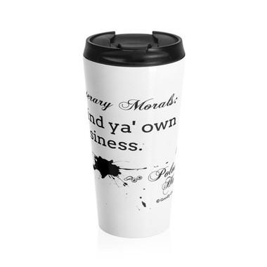 Literary Moral: Hamlet Travel Mug