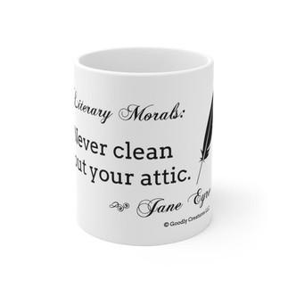 Literary Morals: Jane Eyre Mug