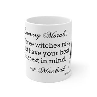 Literary Moral: Macbeth Mug