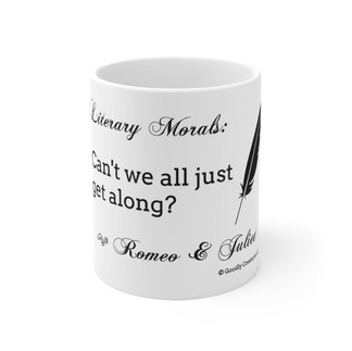 Literary Morals: Romeo and Juliet Mug