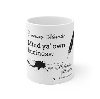 Literary Morals: Hamlet Mug