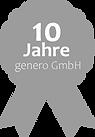 genero gmbh 10 Jahre Erfahrung