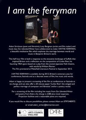 'I am the ferryman' DVD & booklet