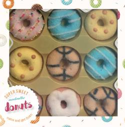 Donutdoos ontwerp