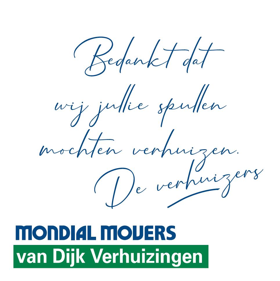 Post-its Mondial van Dijk