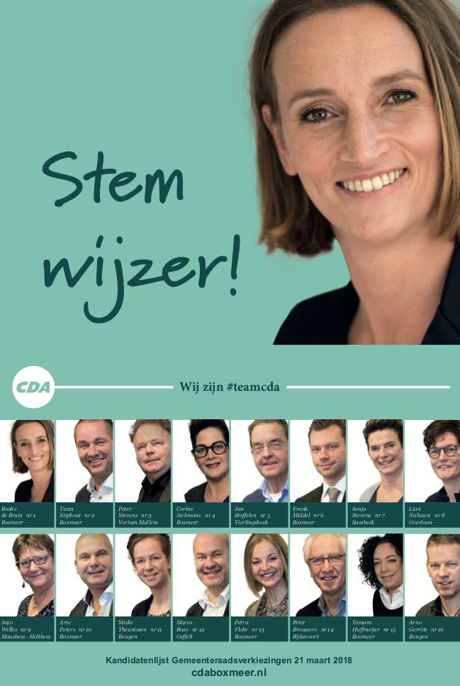 CDA campagne