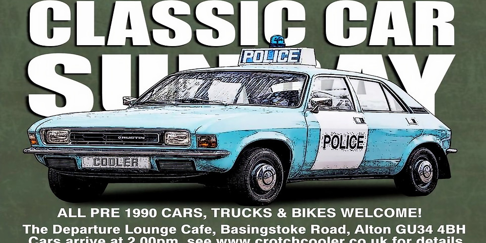 Crotch Coolers - Classic Car Sunday