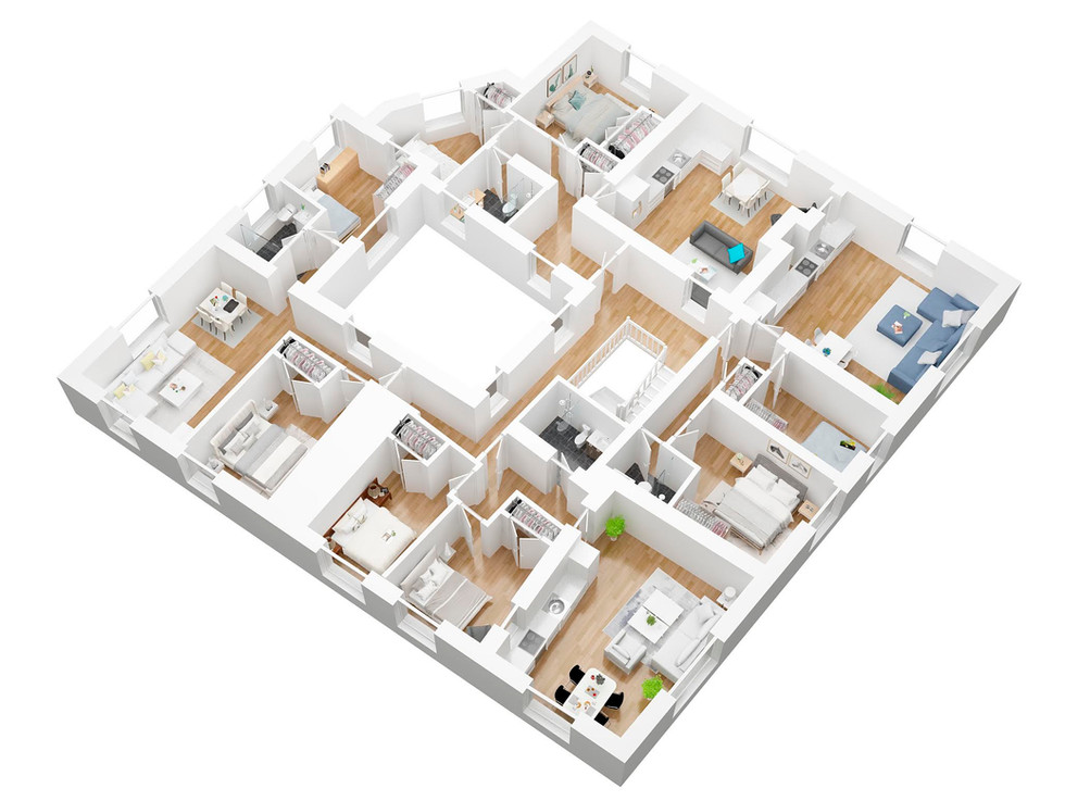 3D Floor plan apartment_archvizstudio3d.jpg
