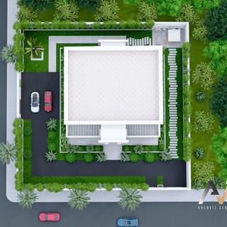 villa exterior rendering_archvizstudio3d