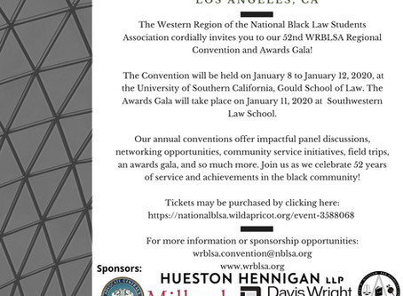WRBLSA 2020 Regional Convention