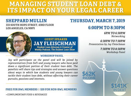 Key Strategies for Managing Student Loans & Its Impact on Your Legal Career