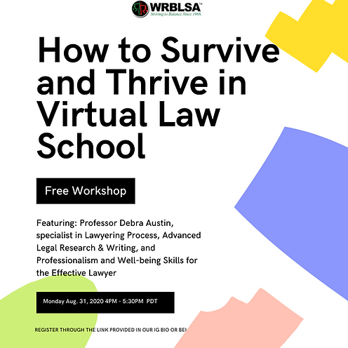 How to Survive and Thrive in Virtual Law
